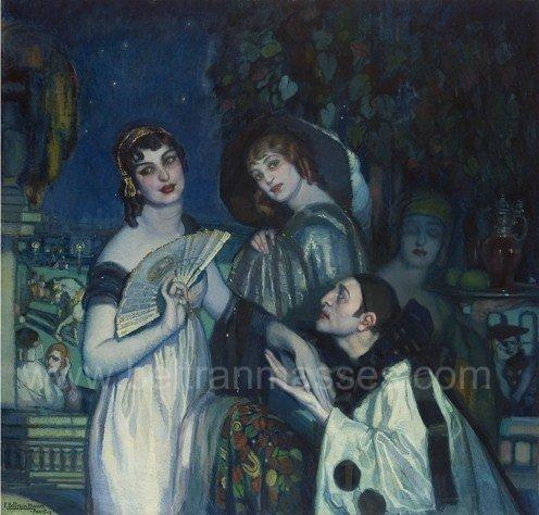 Hora azul , 1917
