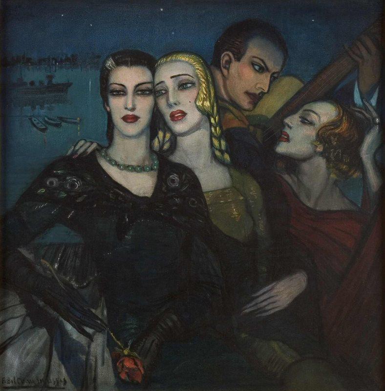 Tres para uno, 1934