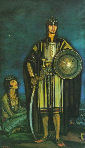 Valentino, the black falcon, 1925
