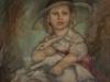 Retrato de niña con conejo, 1938