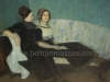 Viuda Narezo e hija, 1910