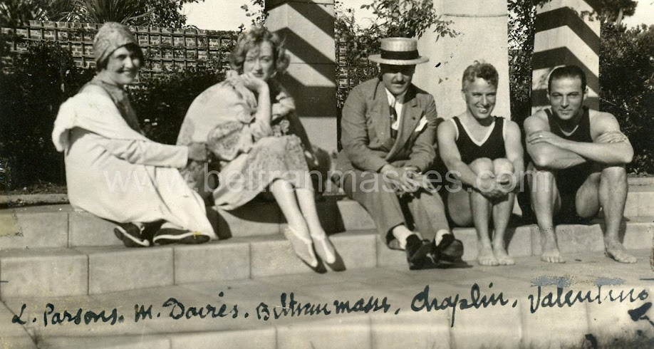 Parsons, Davis, Beltran, Chaplin, Valentino